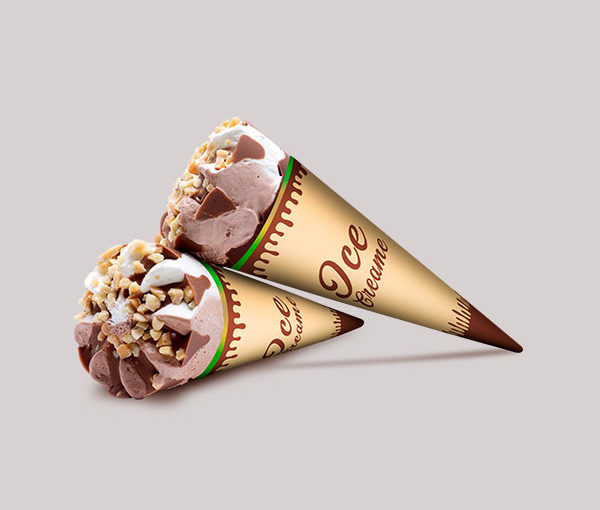 How to make a paper cone sleeves?