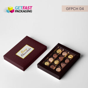 Custom Chocolate Boxes Wholesale