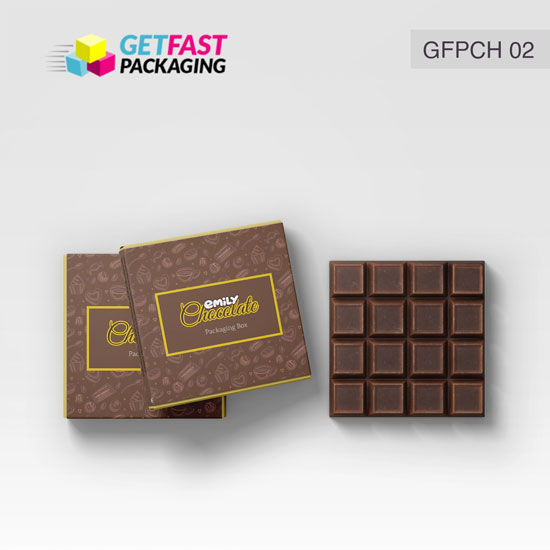 Custom Chocolate Packaging Boxes Wholesale