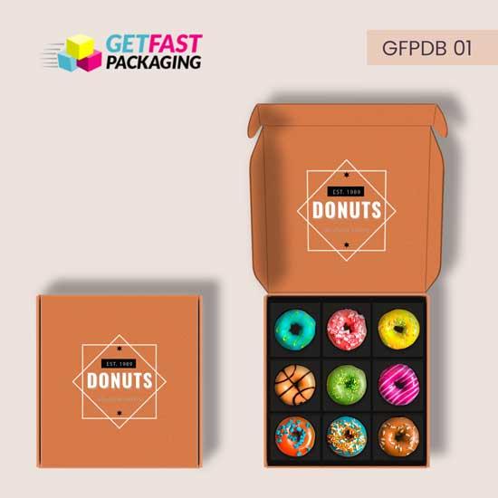 Custom Donut Boxes Wholesale