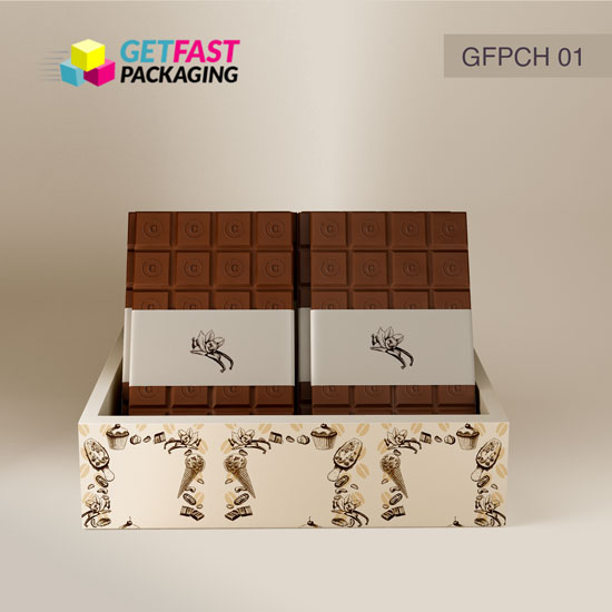 Custom Printed Chocolate Boxes Wholesale