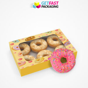 Custom Printed Donut Boxes
