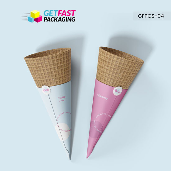 Ice Cream Cone Sleeves Wholesale