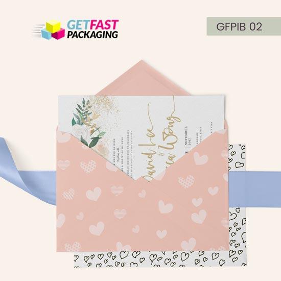 Wholesale Custom Invitation Boxes