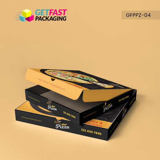 Custom Pizza Packaging Boxes Wholesale