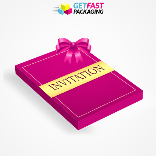 Custom Printed Invitation Boxes