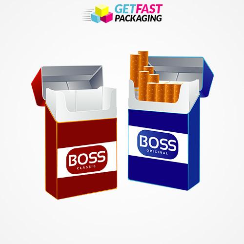 Custom Printed Cigarette Boxes