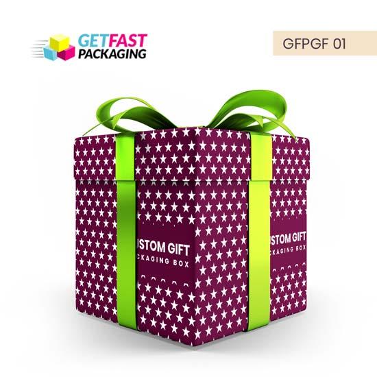 Custom Printed Birthday Gift Boxes Wholesale