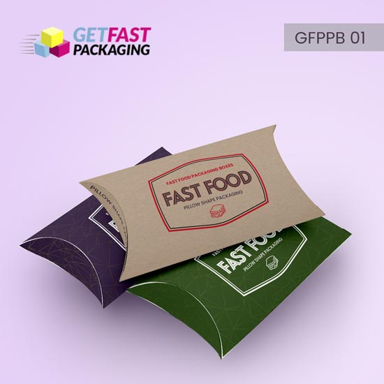 wholesale custom pillow packaging boxes
