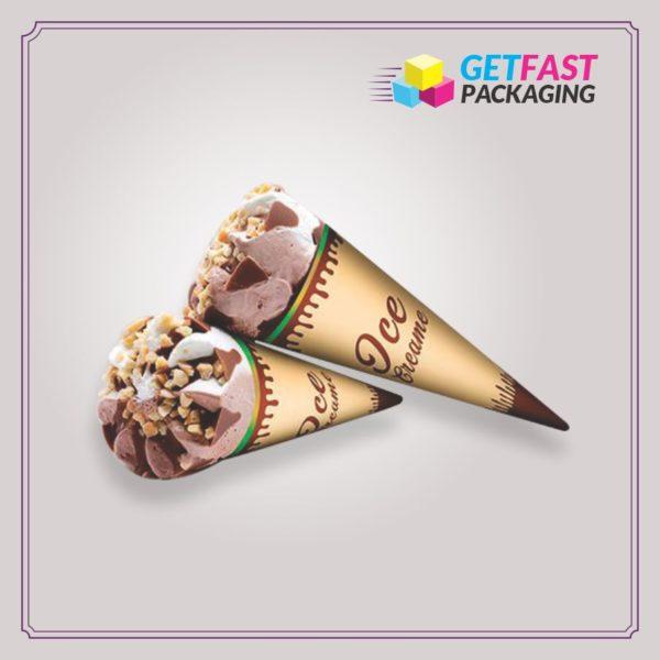 Custom Ice Cream Cone Sleeves Wholesale