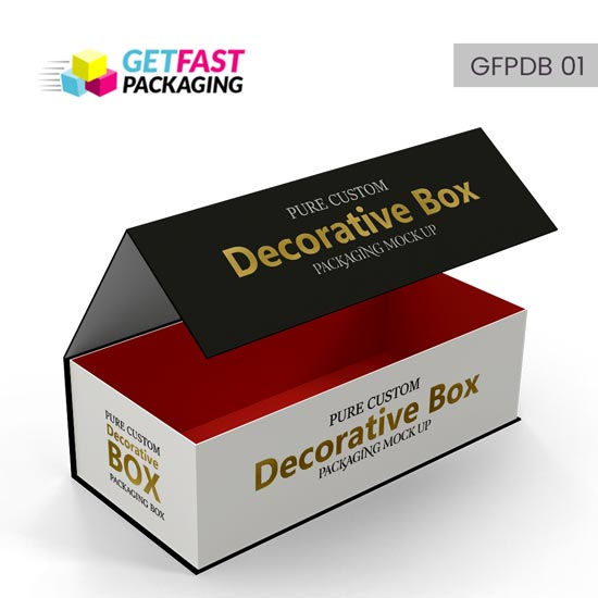 custom decorative boxes wholesale