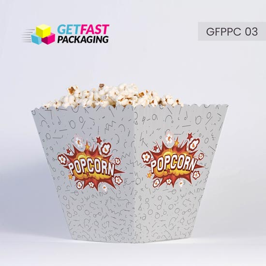Custom Popcorn Packaging Boxes Wholesale