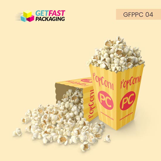 Custom Printed Popcorn Boxes Wholesale